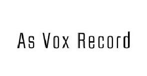 As Vox Record - 作曲家千住明、和田貴史の劇伴サウンドトラック of As Vox